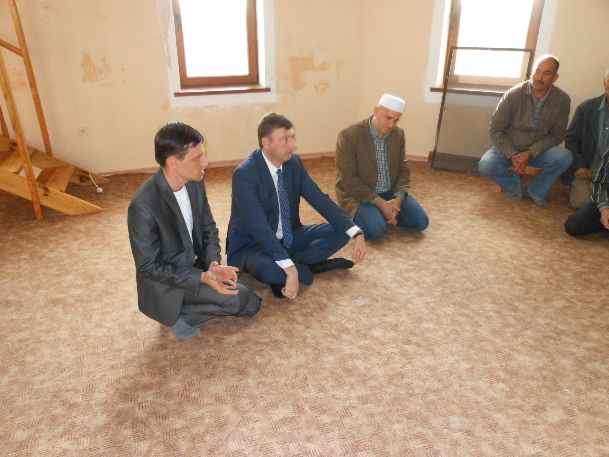 Состоялась встреча с жителями Чистенского сельского поселения по вопросам обустройства