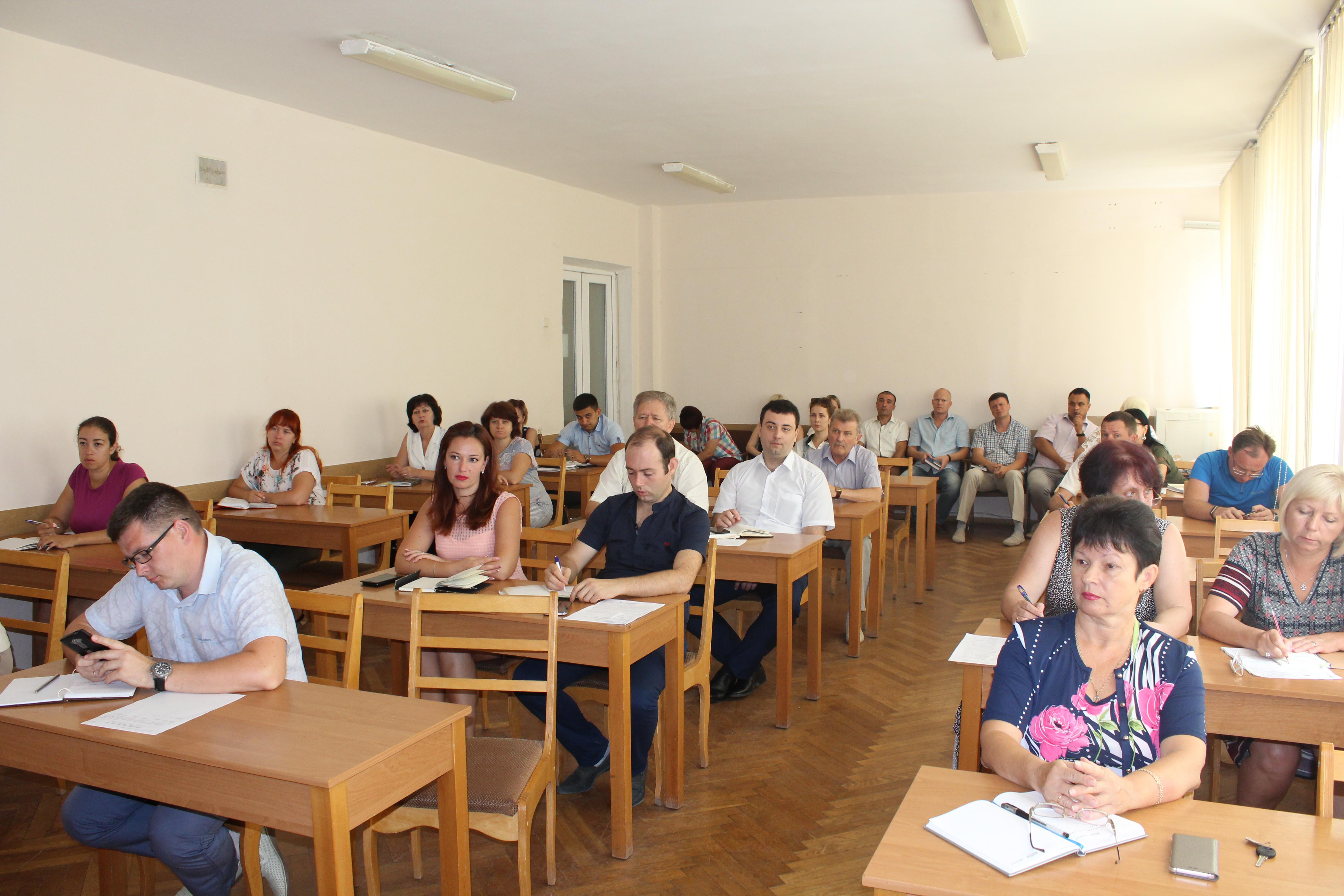 Оксана Механичёва провела аппаратное совещание с руководителями структурных подразделений администрации